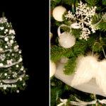 Inspiration Déco de Noël – Un sapin blanc neige et un peu de DIY !