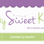 My Sweet Kat : de jolis kit sweet tables à imprimer [Test + Surprise !]