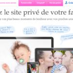 PrivateBebe, pour créer son site bébé et famille 100% privé.