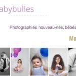 Babybulles, pour vos photos grossesse, bébé et enfant à Marseille.