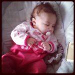 Point Miniloute – bébé a 4 mois !