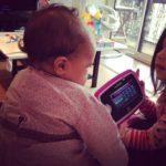 Point Miniloute – bébé a 5 mois !