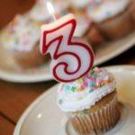 3 ans de blog !