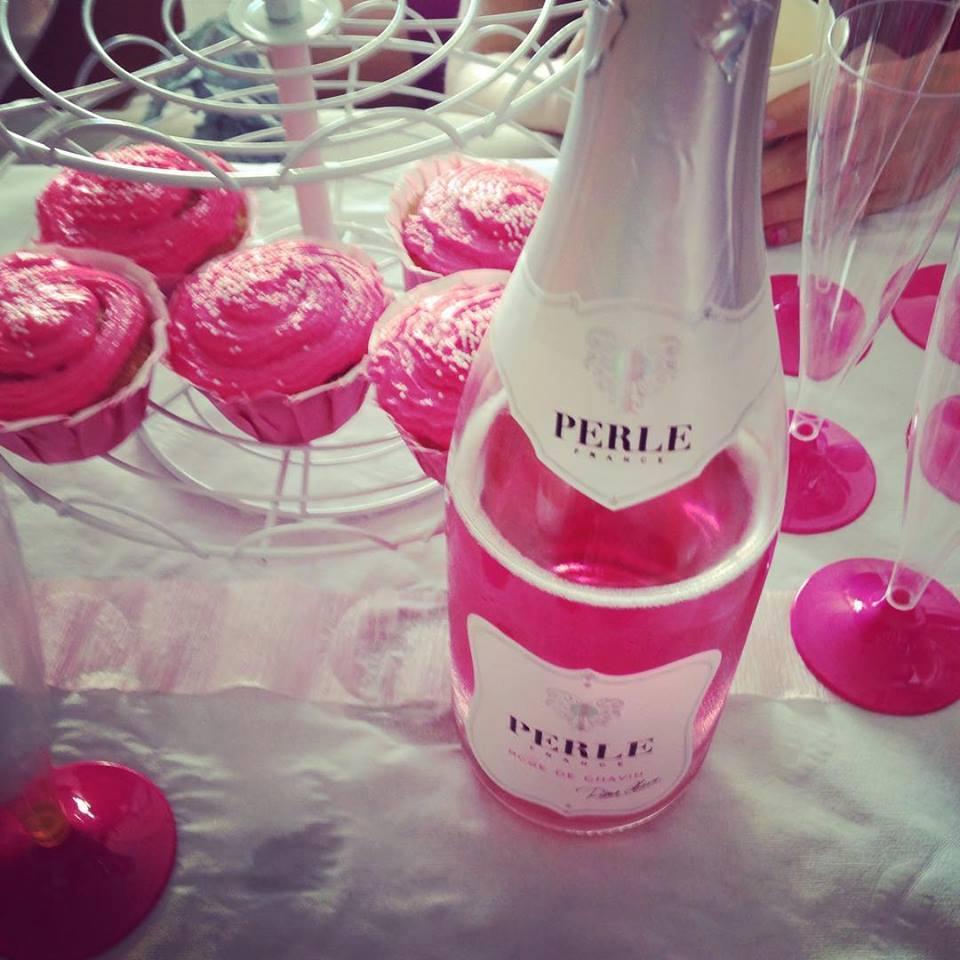 Le perle rose sans alcool