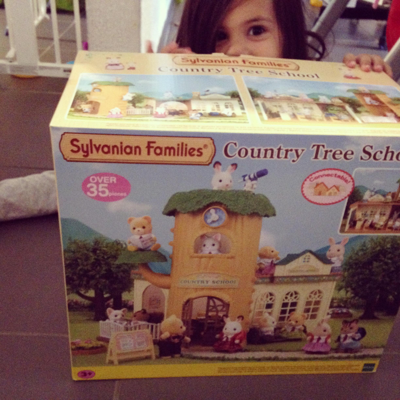 Ecole de la forêt Sylvanian Families