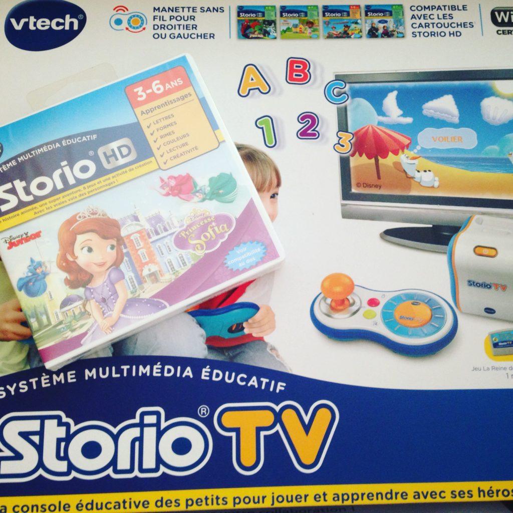 colis vtech Storio TV