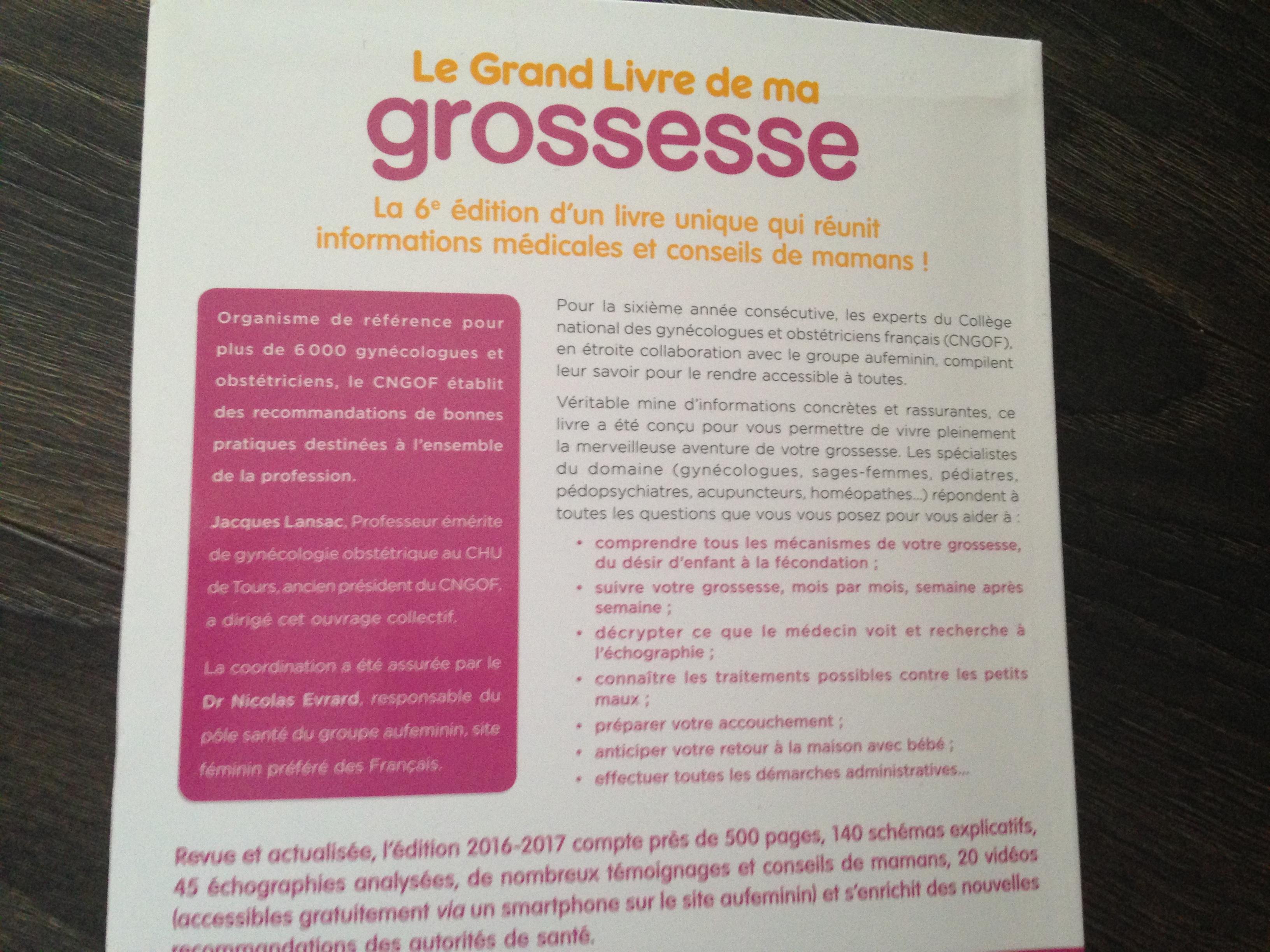 Le Grand Livre De Ma Grossesse Giveaway Encore Un