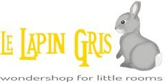 logo lapin gris