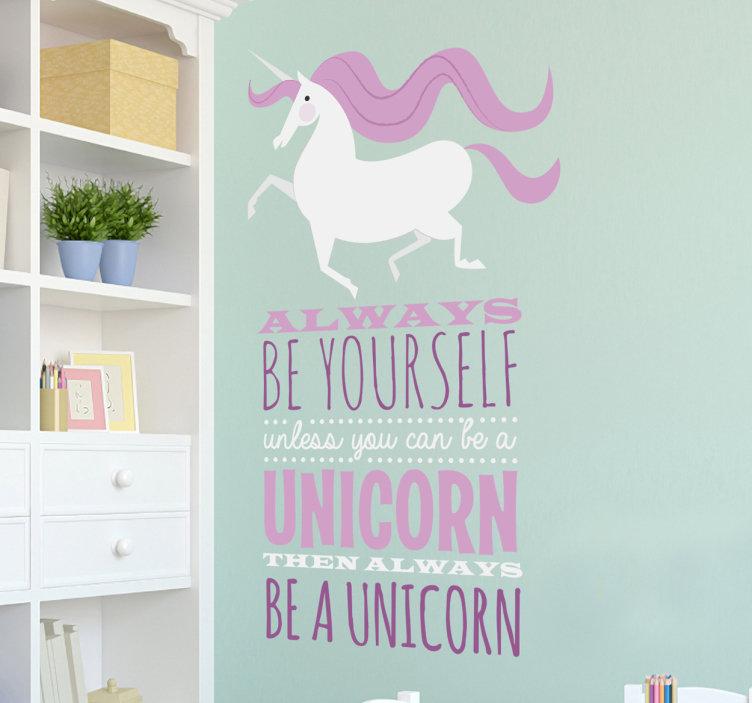 Tenstickers unicorn encore un blog de m re for Chambre unicorn