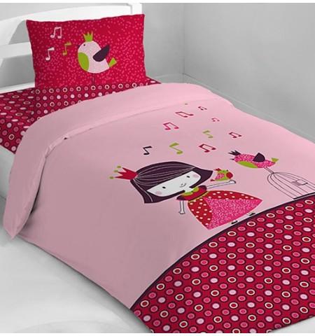 parure de lit enfant princesse guinguette 60 encore un blog de m re. Black Bedroom Furniture Sets. Home Design Ideas