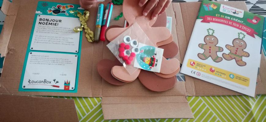 box toucan box noel