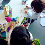 Comment j'ai occupé les filles en vacances en étant freelance : nos activités des vacances !