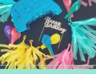 déco d'anniversaire pastel : DIY et planning à J-8 !