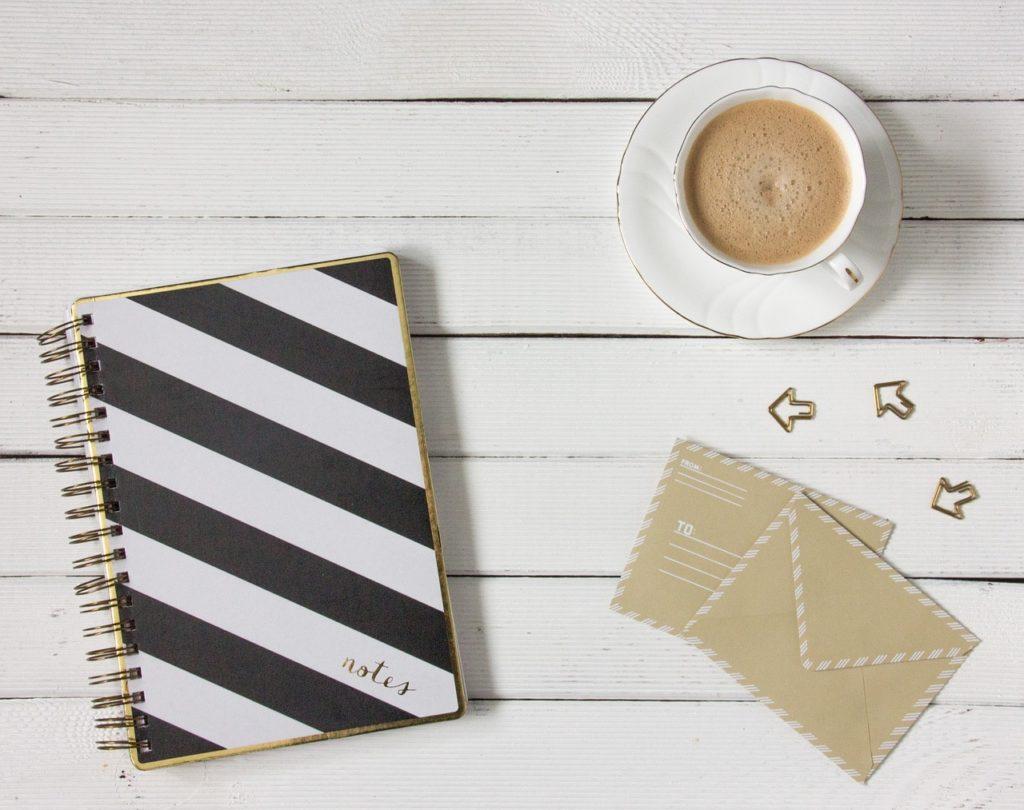 mes astuces pour bloguer : s'organiser et tout noter !