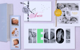 faire part de naissance planet cards