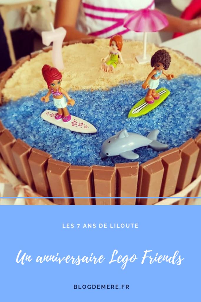 fête d'anniversaire lego friends