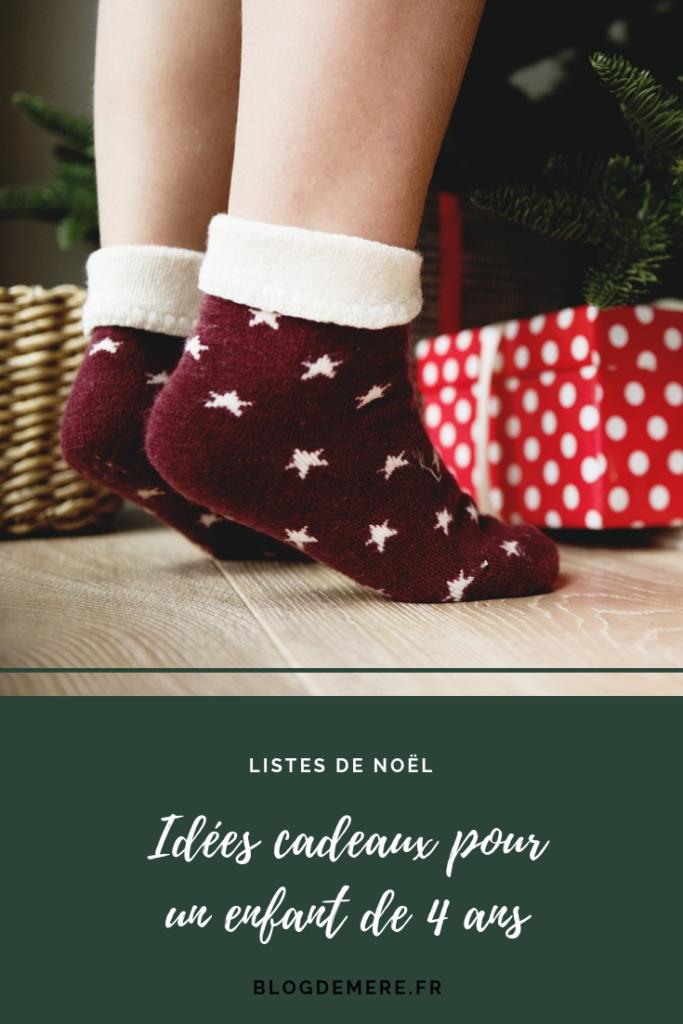idees cadeaux de noel pour un enfant de 4 ans