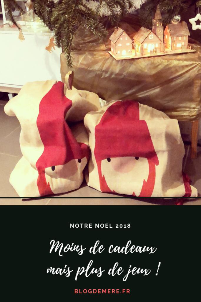 Notre Noel 2018 : moins de cadeaux, plus de joie !