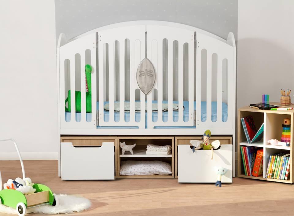 chambre de bébé évolutive