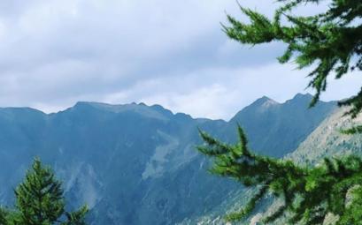 la montagne en ete