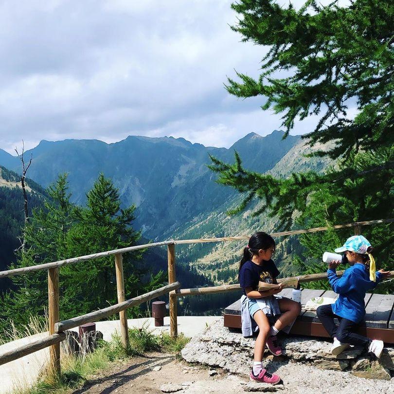 vacances montagne ete