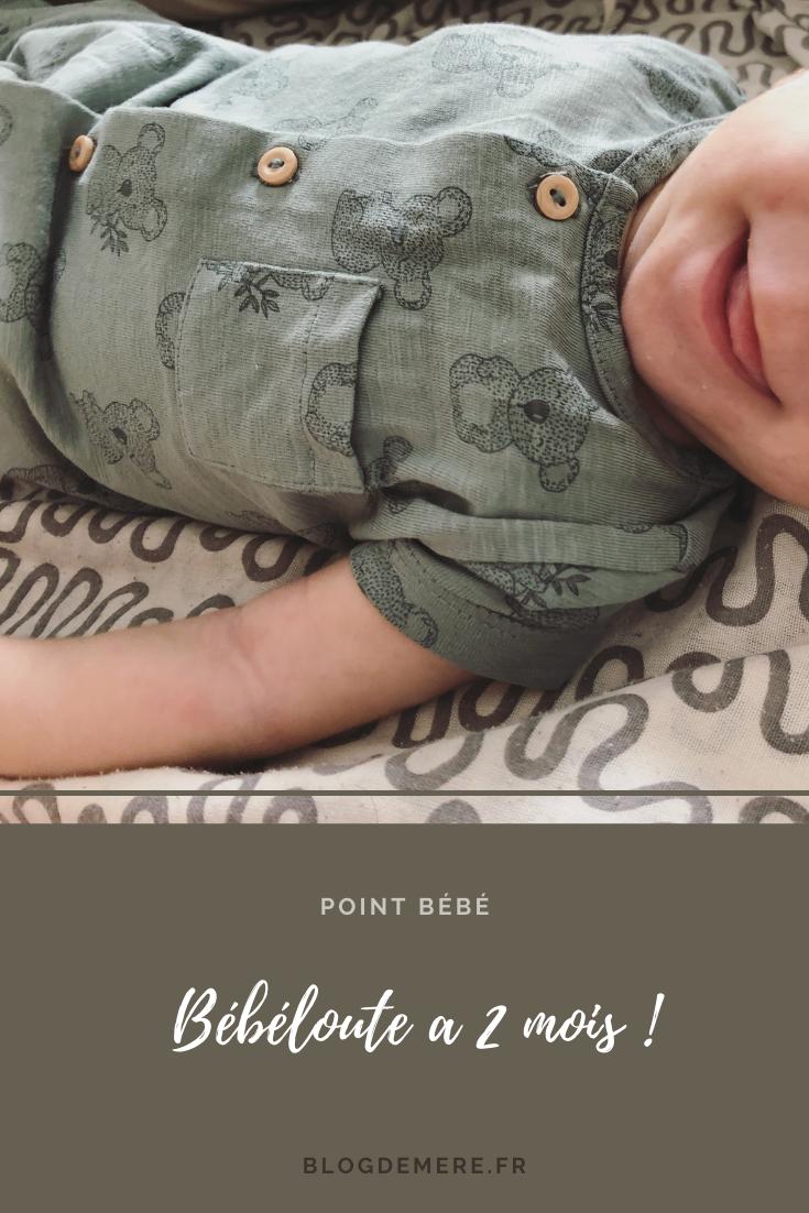 2 mois bebe