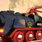 On a testé : la Locomotive à piles à vapeur BRIO